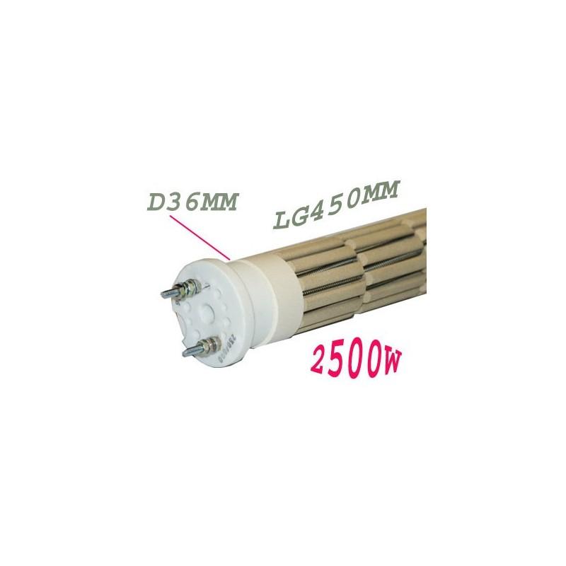 Resistance chauffe eau 2500 watts