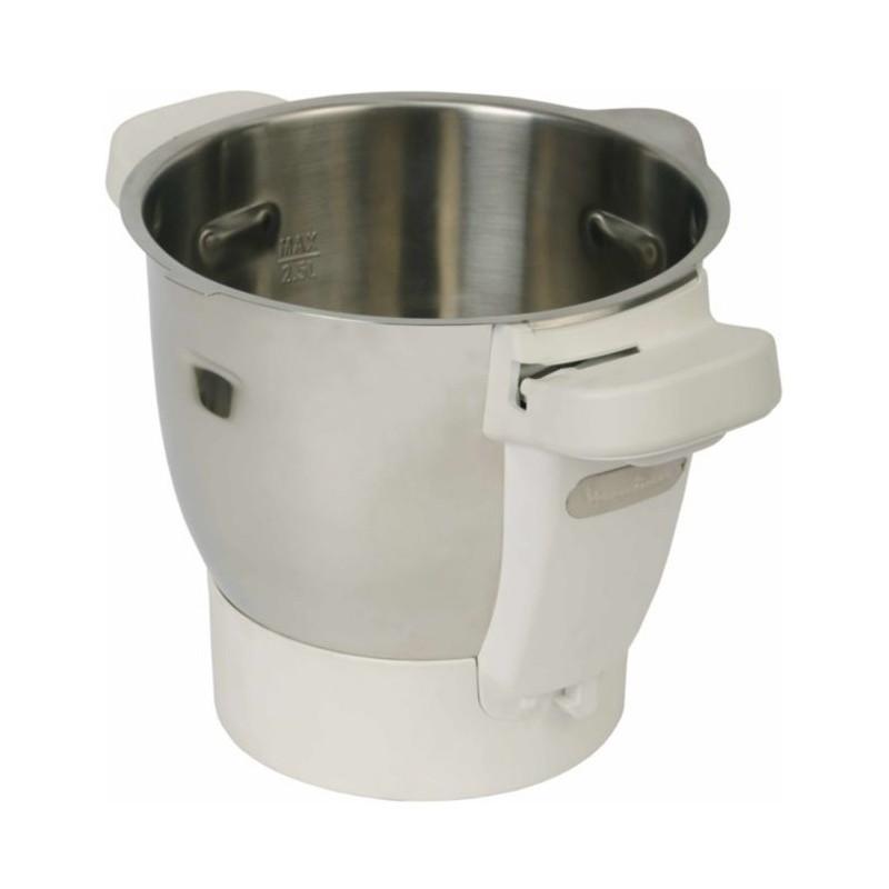 Bol inox de robot cuiseur moulinex cuisine companion hf800 - Moulinex hf800 companion cuisine ...