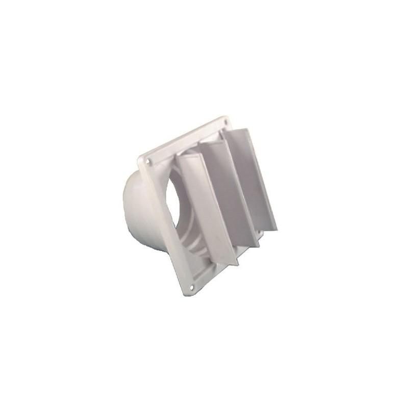 Clapet anti-retour à volets et réducteur pour hotte aspirante