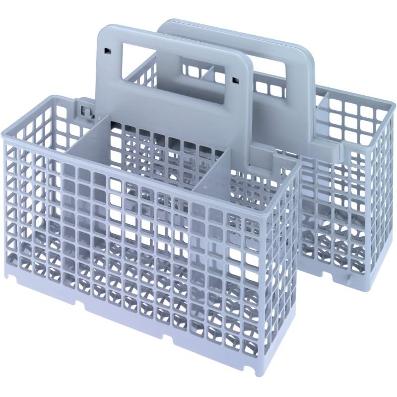 Panier couverts modulable 2 en 1 wpro pour lave vaisselle for Lave vaisselle 40 cm de large