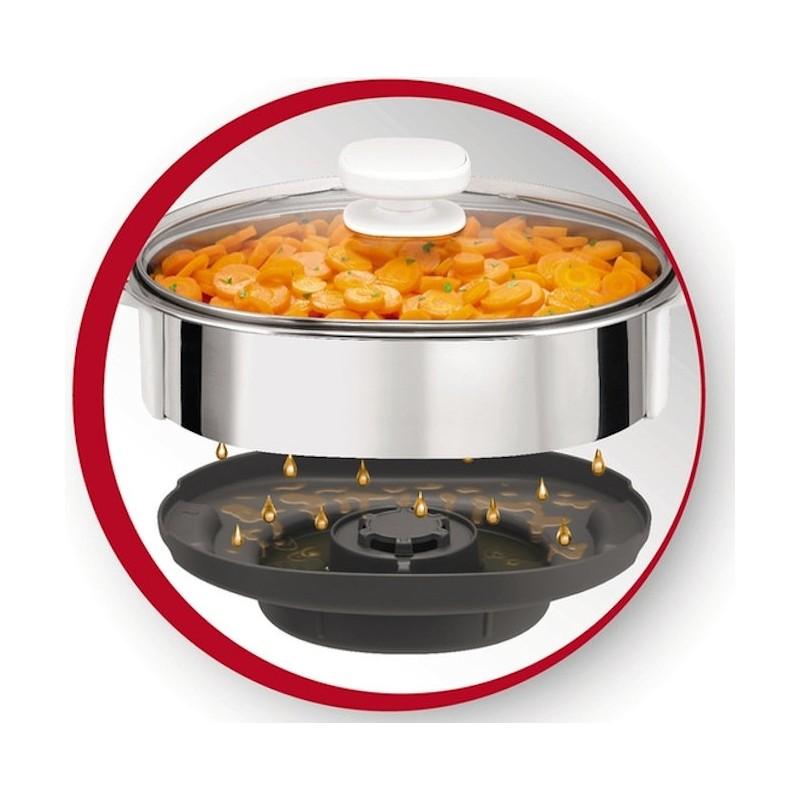Panier vapeur cuiseur robot cuiseur Moulinex Companion