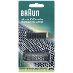 Grille et couteau pour rasoir Braun 428