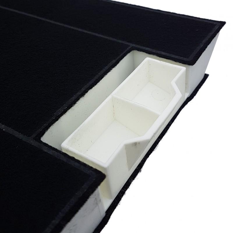 filtre charbon type lz45500 bosch siemens hotte aspirante pieces online. Black Bedroom Furniture Sets. Home Design Ideas