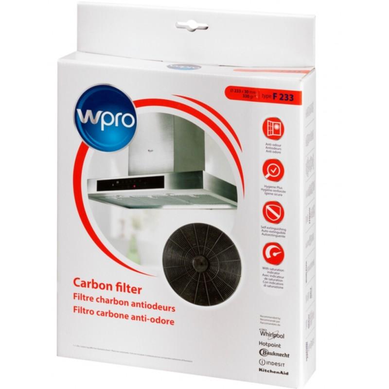 filtre charbon hotte type f233 fac509 1 wpro pieces online. Black Bedroom Furniture Sets. Home Design Ideas