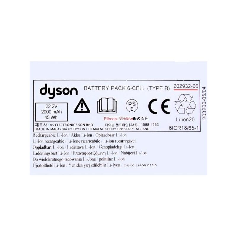 batterie Dyson DC43H / DC45
