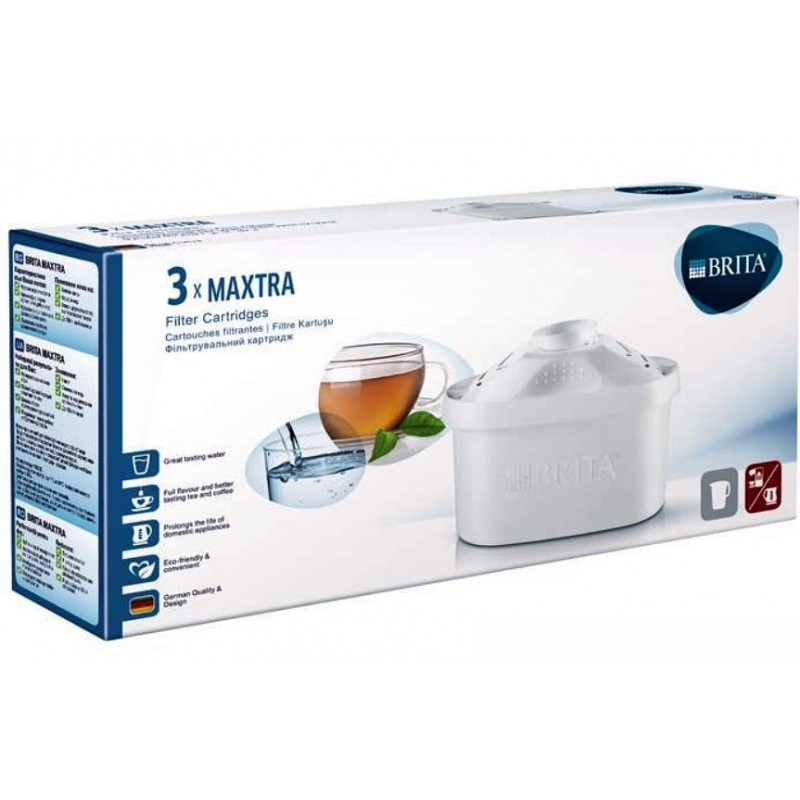 cartouche brita maxtra lot de 3 cartouches filtrantes. Black Bedroom Furniture Sets. Home Design Ideas