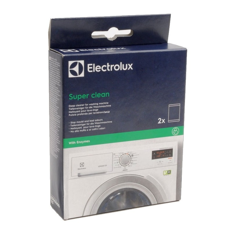 nettoyant super clean pour lave linge electrolux. Black Bedroom Furniture Sets. Home Design Ideas