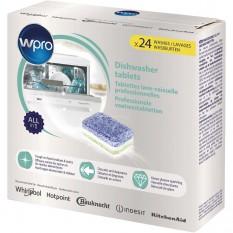 Pack de 24 Tablettes lessive Whirlpool pour lave-vaisselle