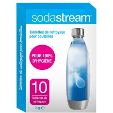 tablettes nettoyage sodastream