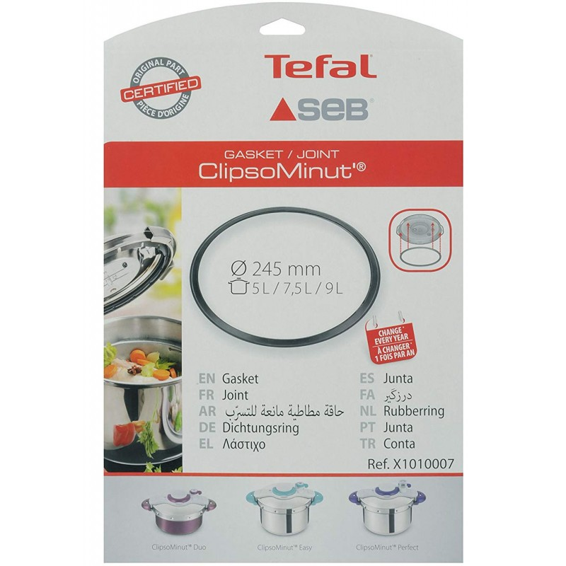 Joint autocuiseur Seb Clipso Minut' Duo