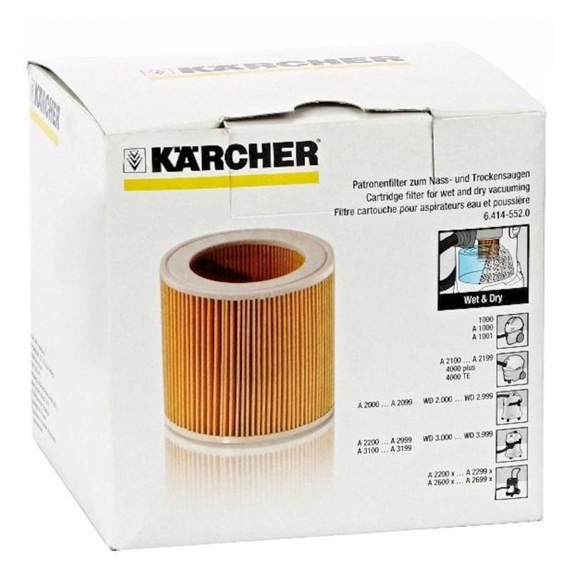 Filtre cartouche d'origine pour aspirateur KARCHER A 2200