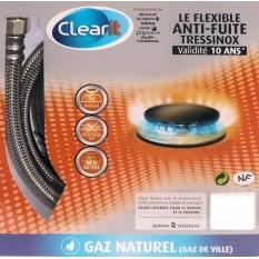 Flexible gaz naturel de ville - Longueur 2 mètres