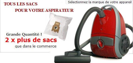 sacs aspirateur
